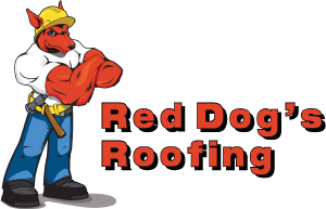 Red Dog's Roofing Logo